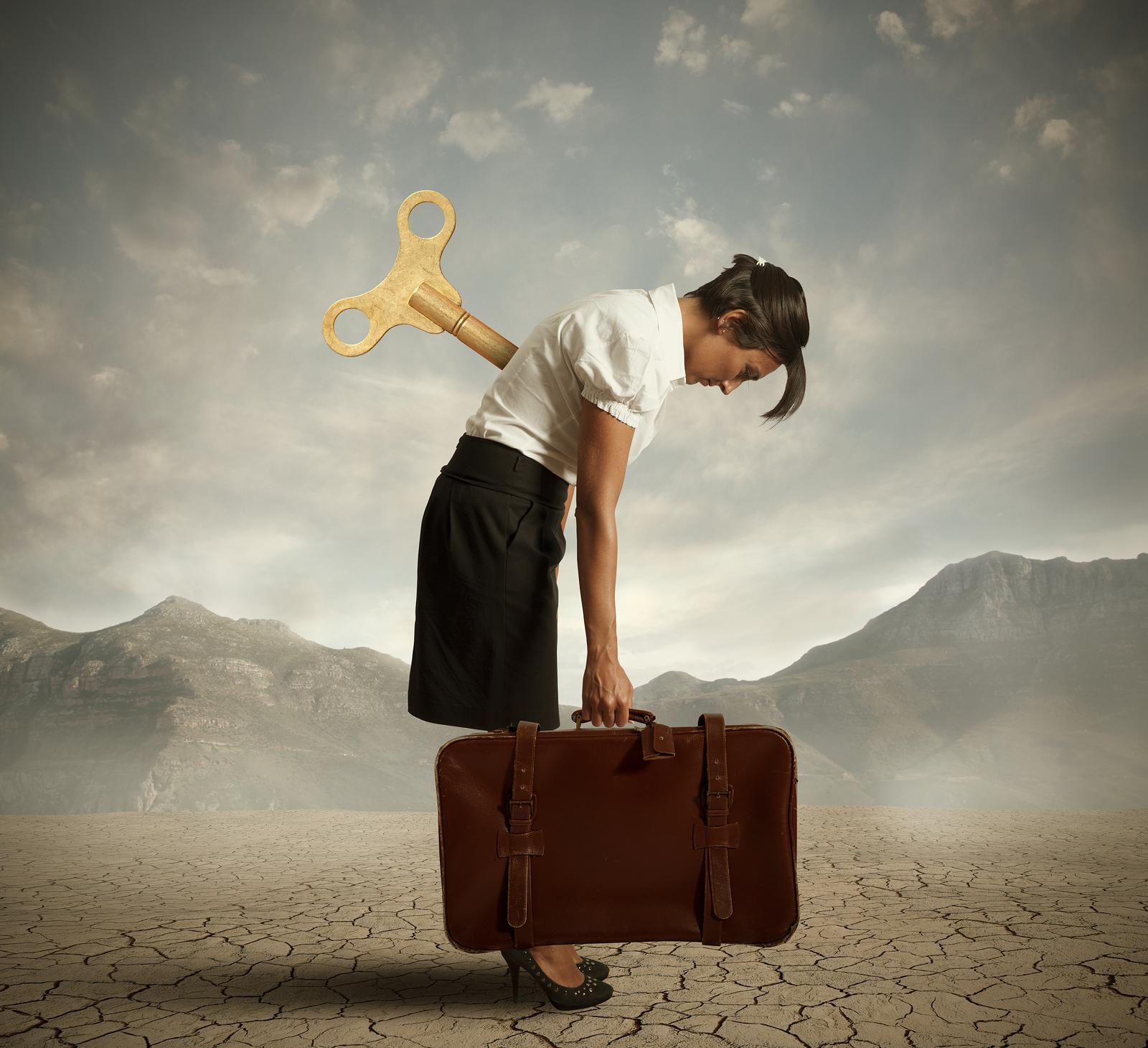 bigstock-Exhausted-Businesswoman-40332463