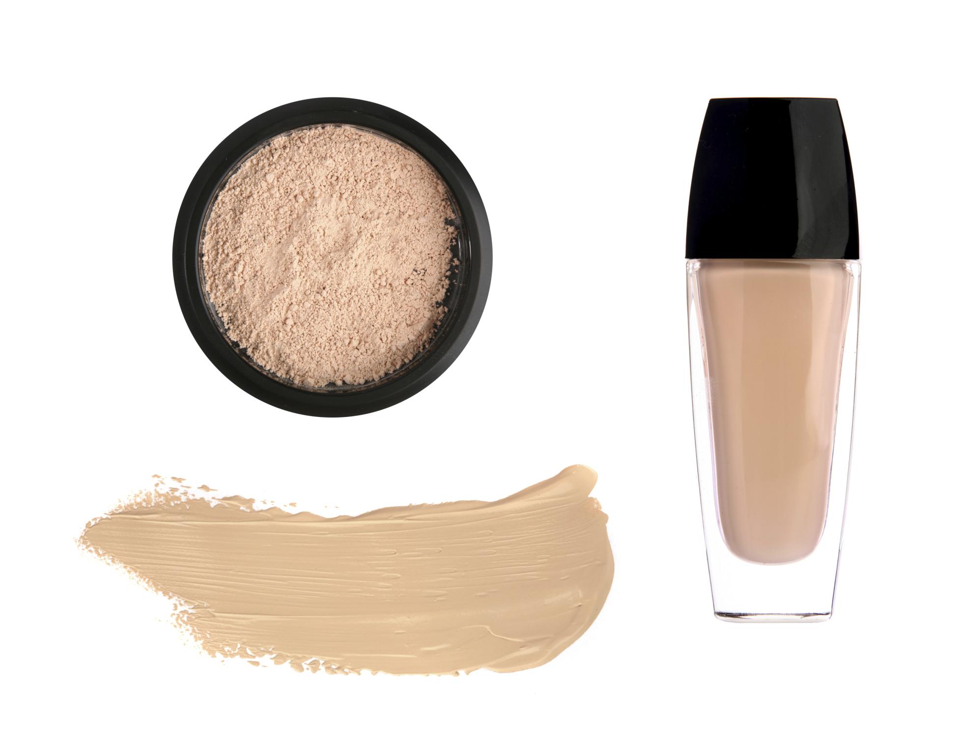 Tone cream and cosmetic powder