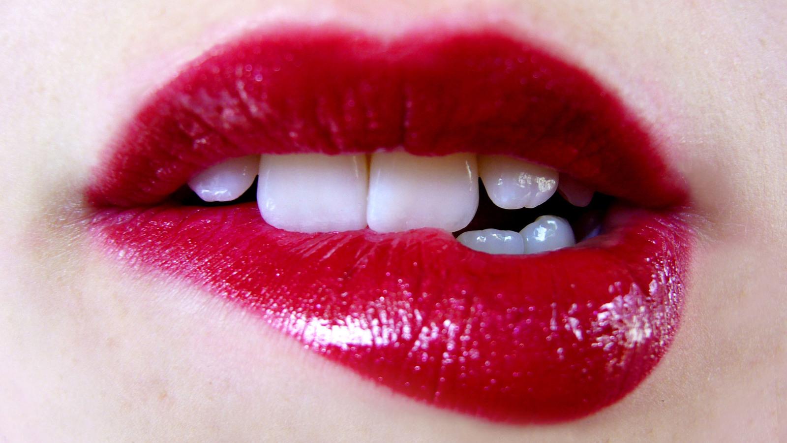 lip-bite